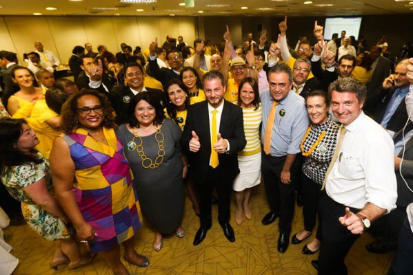 Caio Augusto Silva dos Santos é proclamado presidente eleito da Ordem paulista — OAB SP